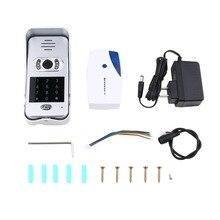 Intelligent Electronic Cat Eye WIFI Video Intercom Doorbell Home Wireless Calling Device Infrared Night Vision Sensor