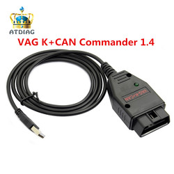 OBD OBD2 Car Cables Suit For VAG K CAN COMMANDER 1.4 With Good Chip