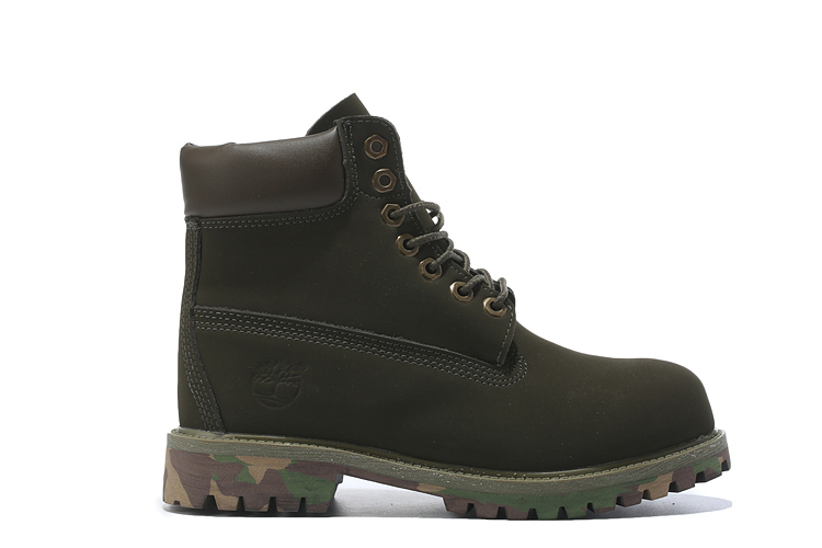 TIMBERLAND Women 10061 Military Camouflage Colorful Bottom Ankle Boots,Woman Timber Wearable Motorcycle boots Casual Shoes 36-40 4