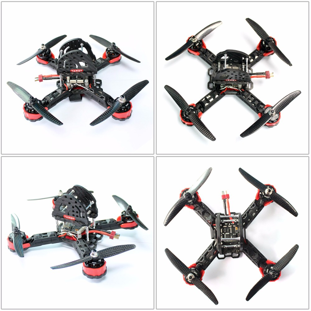 DIY Toys RC FPV Drone Mini Racer Quadcopter 190mm SP Racing F3 Deluxe Flight Controller Radiolink AT9S Remote Control