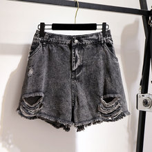 denim Del Shorts Elastico