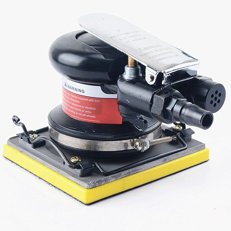 Livraison gratuite carré pneumatique sable machine air sable shaker vent machine de polissage vibratoire outil de meulage 110*100mm