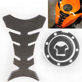 Motorcycle Fuel Tank Decal Pad + Gas Cap Pad Cover Sticker Universal For Honda CBR 600 F2 F3 F4 F4I 900RR 1000RR NSR VTR 125 250