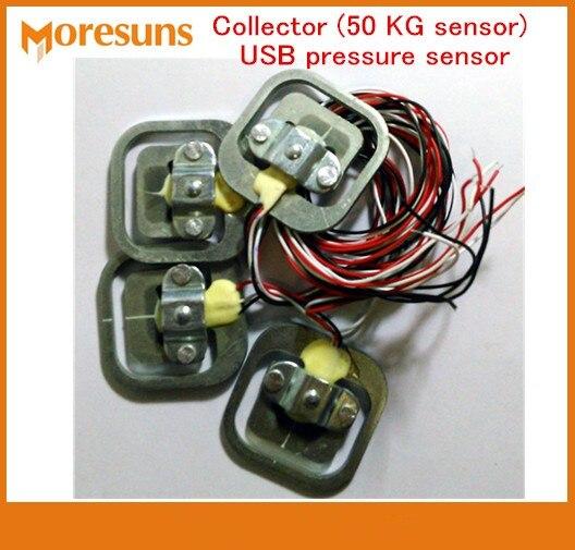 Rapide Livraison gratuite Collecteur (50 KG capteur) USB capteur de pression poids détection CACHÉ pilote libre fournir secondaire kits de développement