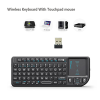 Original Rii X1 2 4 GHz Mini Drahtlose Tastatur Englisch Tastatur mit TouchPad für Android TV Box/Mini PC/ laptop