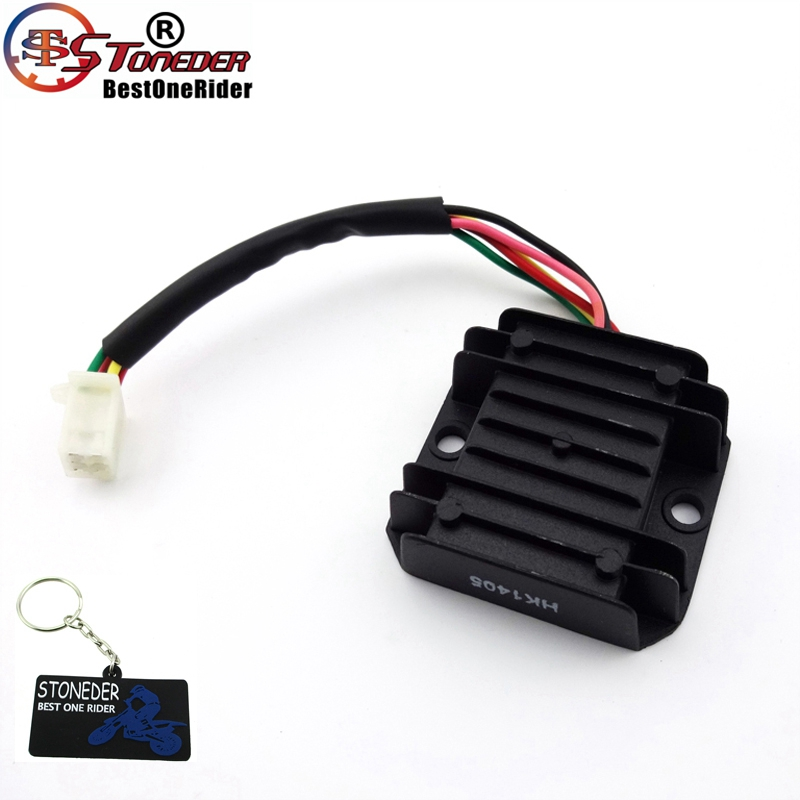 Stoneder 5 Wire Cable Voltage Regulator Rectifier For