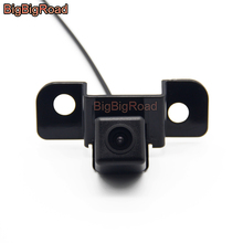 BigBigRoad Car Rear View Camera For Toyota Crown 2008 2009 Honda Spirior 2013 Night Vision Waterproof CCD Parking Backup Camera new high quality rear view backup camera parking assist camera for toyota 86790 42030 8679042030