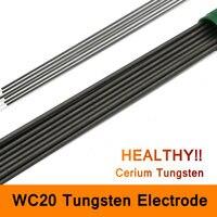 Tungsten Electrodes WC20 Electrode Cerium Tungsten Rod Needle Wire For TIG WSME Welding Machine Accessories Long