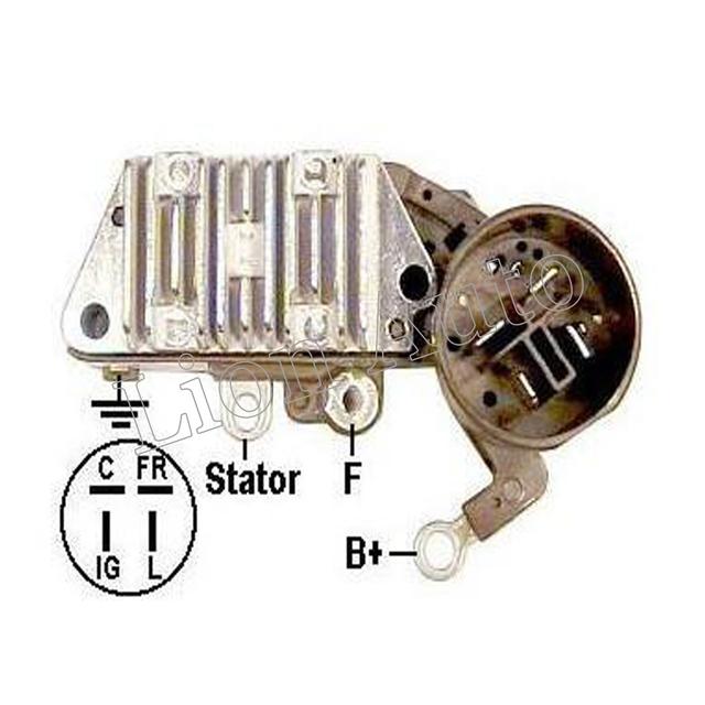 León de la nueva regulador del alternador Brush Holder In433 126000-1360