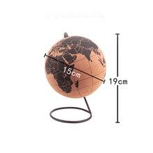 Маленький размер, пробковый деревянный телелурион, глобус, карты, глобусы, украшение для дома, офиса, Карта мира, надувная, для обучения, карта, для географии, шар, подарок