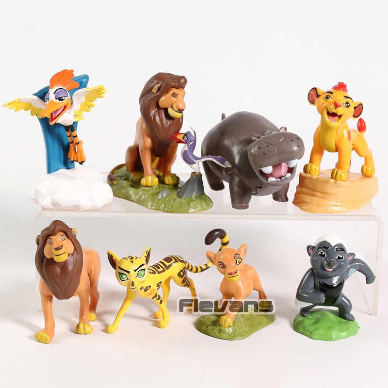 "Disney The Lion Guard Beshte and Ono 2/"" Tall PVC FIgure"