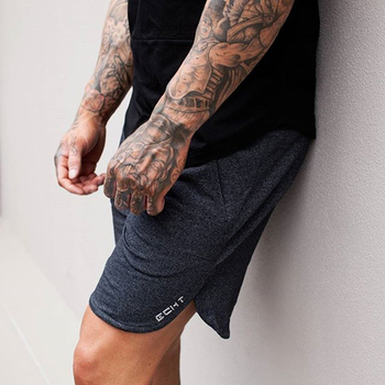 Calf-Length Mens Fitness Shorts 1