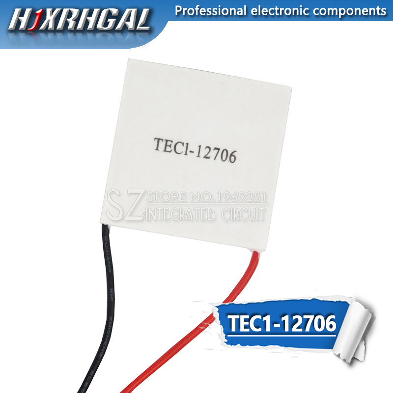 1PCS TEC1-12706 Thermoelectric Cooler Peltier Elemente Module 40*40mm 12706