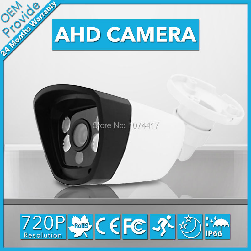 AHD4100LP  Night Vision Infrared Analog High Definition AHD 720P Plastic Waterproof Outdoor/Indoor CCTV AHD Surveillance Camera 5x42 hunting night vision magnification camouflage high definition night vision telescope portable infrared camera video