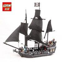 LEPIN 16006 16009 Pirates Of The Caribbean The Black Pearl Ship Building Kit Blocks Bricks Toys