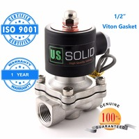 U S Solid 1 2 3 4 1 Stainless Steel Electric Solenoid Valve NPT Thread Normally