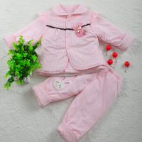 Infants And Young Children Suit Three Piece 0 2 Years Old Children Fall Winter Clothing Neonatal