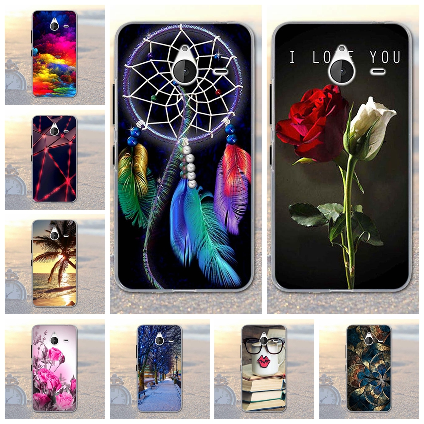Soft Silicon Case For Microsoft Nokia Lumia 640 XL Case TPU Back Cover For Funda Microsoft Nokia Lumia 640XL Case Coque Capa image