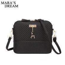 Mara's Dream, женская сумка, сумка-мессенджер, модная сумка с оленем, игрушка в виде ракушки, для девушек, сумка через плечо, сумка для основной женщины