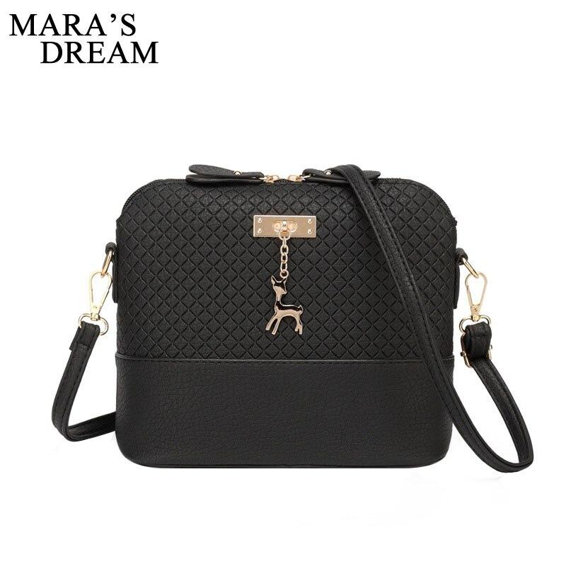 Mara s Dream 2019 Women Bag Messenger Bags Fashion Bag With Deer font b Toy b