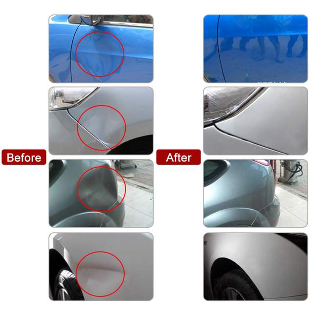 Car Body Paintless Dent Repair Tools Dent Removal Dent Puller+18 Tabs Dent Lifter Hand Tool Set For Bmw E46 E60 E90 Ford Focus 2