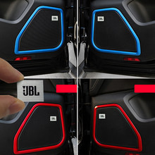 1X JBL Car Audio sticker Voor BMW E46 E39 E60 E90 E36 F30 F10 X5 E53 E34 E30 Mini Cooper lada Audio Speaker Stickers Accessorie(China)