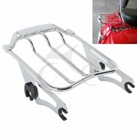 Motorcycle Air Wing Luggage Rack or Docking Hardware For Harley Davidson Touring Street Glide Road King Road Glide CVO 2009 2018