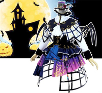 새로운 애니메이션 사랑 라이브 선샤인 Aqours Yoshiko Tsushima 할로윈 드레스 코스프레 의상