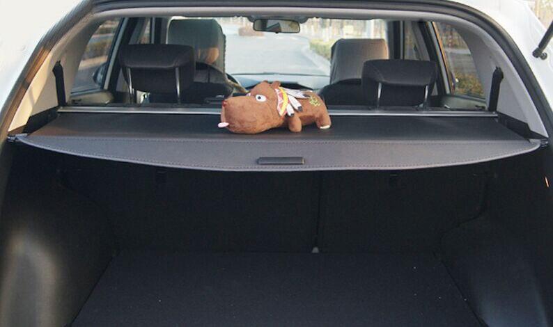 Black Car Rear Shade Cargo Cover 7 Seat For Hyundai Santa Fe Maxcruz 2013 2014 2015