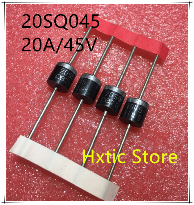 10 pcs 20SQ045 20A 45V Schottky Rectifiers Diode new Freeshipping10 pcs 20SQ045 20A 45V Schottky Rectifiers Diode new Freeshipping