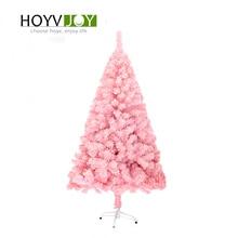 HOYVJOY 150cm Luxury Christmas Tree Pink Flocking Home Decorations New Year Gift Wholesaler Customizable