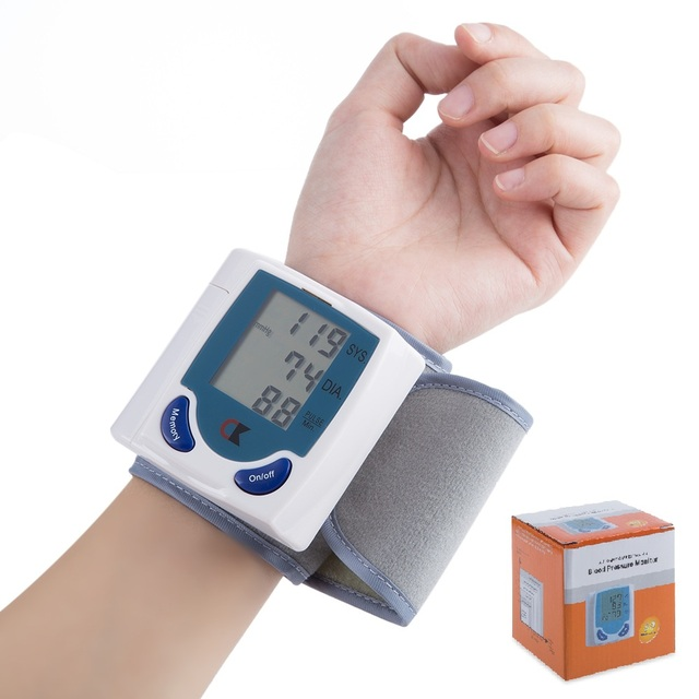 Health Care Arm Blood Pressure Pulse Monitor Monitors High Quality Care Digital Upper Automatic Wrist Blood Pressure Monitor