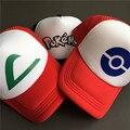 Pokemon Gorras de Béisbol de Impresión de Poliéster Hombres Regalo Para Él de Alta Calidad de Hip-Hop 6 Panles Snapback Sombreros sombreros Ajustables Envío Libre