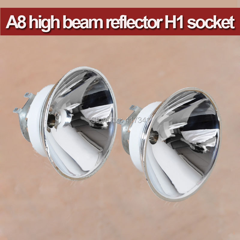 Free Shipping Heat Resisting A8 High Beam Reflector H1 Socket 35W HID Xenon Lamp Easy Install  for opel cih customized 128mm connecting rods h beam forged billet 4340 conrods free shipping high performance fitting arp 3 8