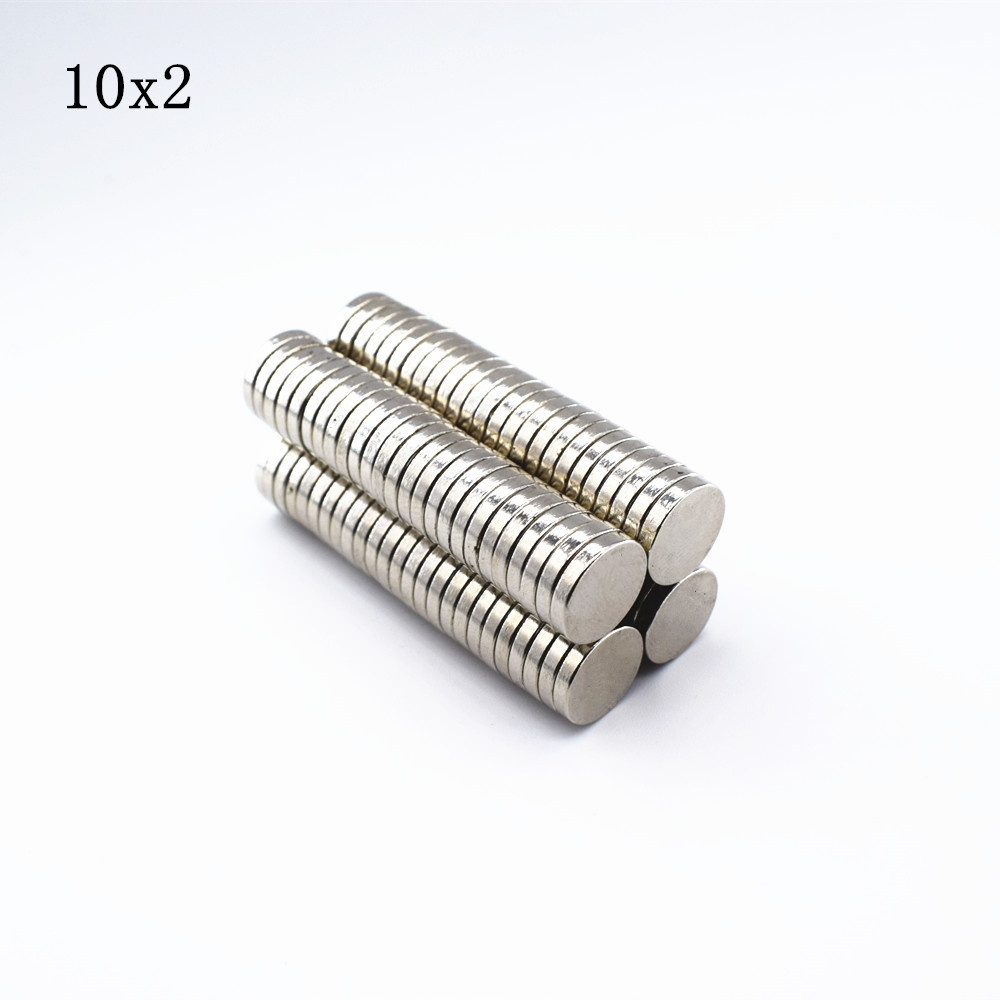 200pcs Neodymium magnet 10x2 Rare Earth small Strong Round permanent 10*2 mm fridge Electromagnet NdFeB nickle magnetic DISC 1pcs neodymium magnet 30x10 mm rare earth super strong round permanent powerful 30 10mm fridge electromagnet ndfeb magnetic