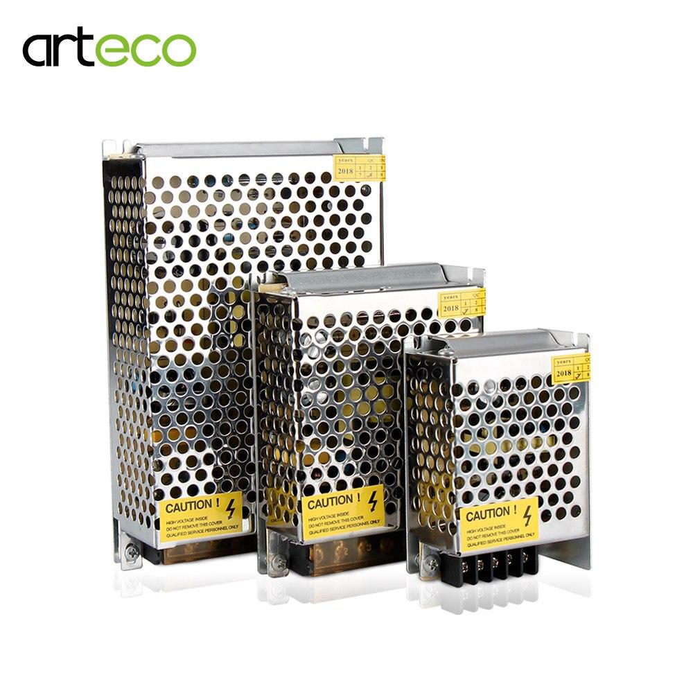 Импульсный источник питания 24 В, 1 А, 2 А, 5 А, 10 А, трансформатор 120 Вт, 360 Вт для светодиодных лент, адаптер для светодиодных лент