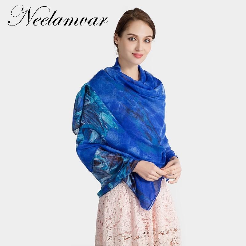 Neelamvar 2018 womens Autumn Winter leaves cotton shawl scarves shawls Bohemian voile scarf wholesale free shipping hijab