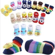 Unisex Baby slip-resistant floor sock boys and girls kids Children cute lovely animal Anti-slip Walking Toddler 20%Off
