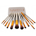 Fashion 7/12pcs Powder Blushesr Eyeshadow makeup brush NK3 NK4 NK5 Cosmetic Brushes Make up Portable Beauty tool with Metal Case