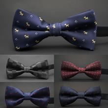 GUSLESON, новинка, галстук-бабочка в горошек, Свадебный галстук-бабочка, Noeud Papillon, для мальчиков и девочек, полиэстер, шелк, Pajaritas, галстук-бабочка, женский, мужской галстук