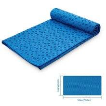 72 ''x 25'' нескользящий коврик для йоги, покрытие, полотенце, Противоскользящий коврик из микрофибры для йоги, полотенце s одеяла для Пилатес, фитнеса