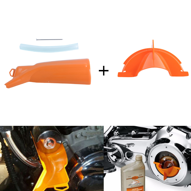 Covers & Ornamental Mouldings Motorcycle Accessories & Parts Motorcycle Orange Drip-free Oil Filter Funnel For All Harley Sportster Xl 2004-later Touring Street Glide Road King Dyna Models