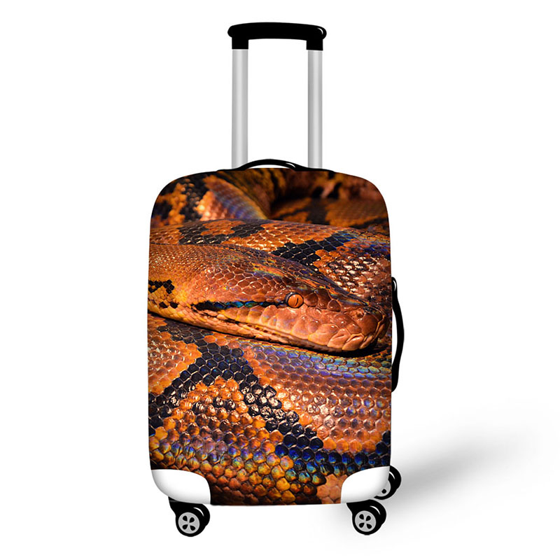 Case For Suitcases Cover Case Suitcase Luggage Protective Covers Travel Accessories 3D Python Lollipops Zipper Suit 18-32 Plus