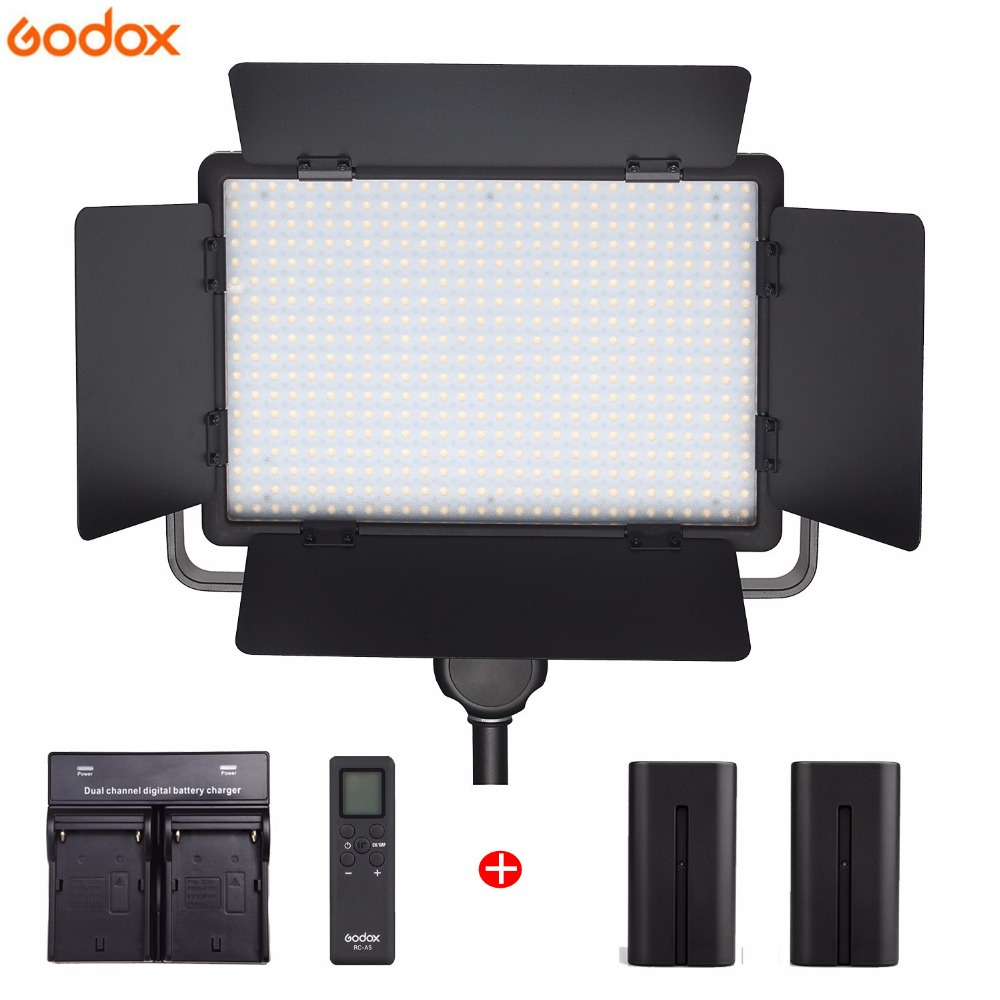 Godox LED500W Kit 504 LED Light Lamp Panel Remote Control for Studio Video Recording Lamp Photo shoot Photography With BatteriesGodox LED500W Kit 504 LED Light Lamp Panel Remote Control for Studio Video Recording Lamp Photo shoot Photography With Batteries