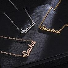 Online Get Cheap Pendant Cursive Necklace -Aliexpress com
