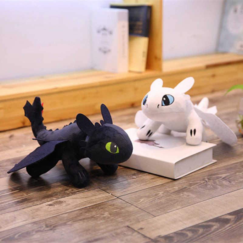 Como Treinar O Seu Dragão Desdentado Fúria Da Noite Luz Do Mundo Oculto Fúria Pelúcia Curto Mini Dolls Stuffed Animal Macio brinquedos Kawaii