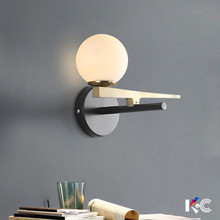 Modern LED living room sconces Nordic lighting fixtures loft illumination bedroom wall lights Novelty home deco aisle wall lamps