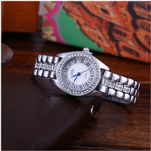 New Fashion Women Stainless Steel Silver Gold Mesh Watch Unique Simple Diamond-studded Watches dropshipping new 2019