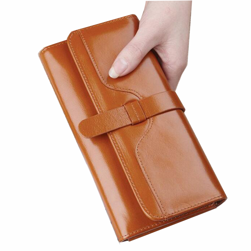 Women Wallets Brand Design High Quality Leather Wallet Female Hasp Fashion Dollar Price  Long Women Wallets And Purses 2017 black pu leather wallet women stone grain wallets brand long design fashion coin purses for women with high quality qd018