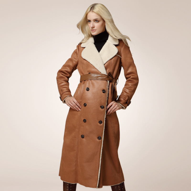 Long Leather Coats For Women